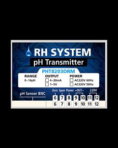 PHT8203DRM pH 4-20mA Transmitter